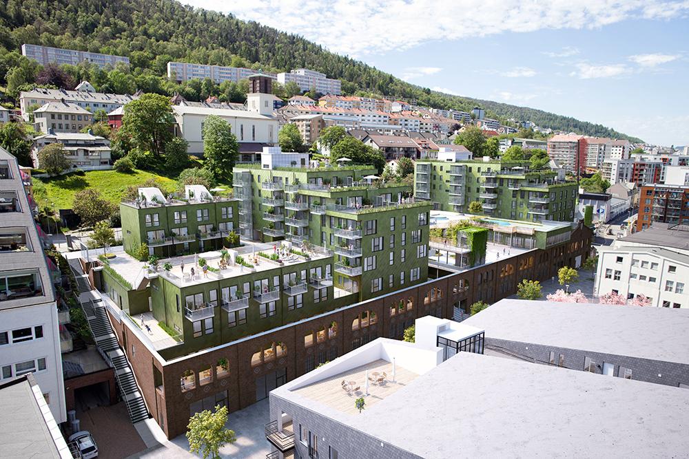 Grønn Overflateteknikk er med på å forme Bergens framtid.