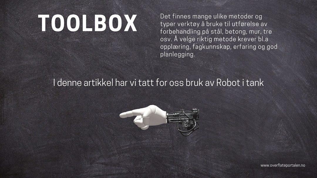 Robot i tank